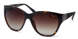 Guess  Designer Polarized Sunglasses GUP7348 in Tortoise Frame with Brown Gradient Lens