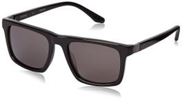 Spine Optics Designer Sunglasses SP3004-001 in Black with Grey Tint 53mm