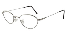 Marcolin Designer Eyeglasses 6395 45 mm in Silver :: Custom Left & Right Lens