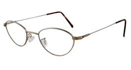 Marcolin Designer Eyeglasses 6395 in Bronze :: Custom Left & Right Lens