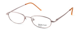 Calabria Kids Fit MetalFlex Designer Eyeglasses 1001 in Pink :: Custom Left & Right Lens