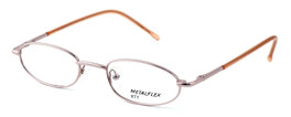 Calabria Kids Fit MetalFlex Designer Eyeglasses TT in Pink :: Custom Left & Right Lens