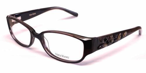 vera wang designer reading glasses v088 in ruby speert