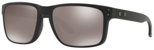 Oakley Designer Sunglasses Holbrook OO9102-D655 in Matte Black with Prizm Black Polarized Lens
