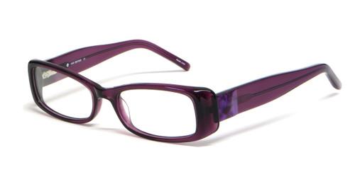 calabria designer reading glasses 4020 in violet