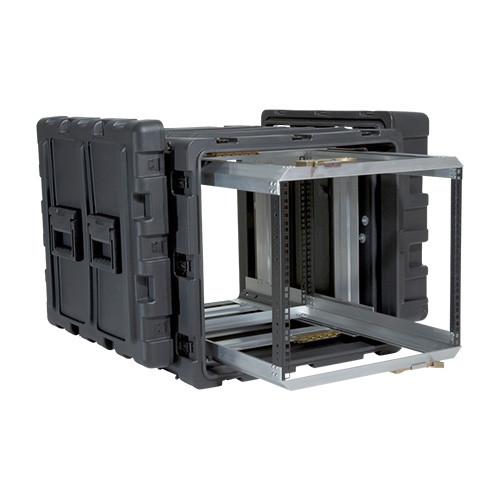 3RR-9U24-25B 9U 9U Case with Slide Out Rack