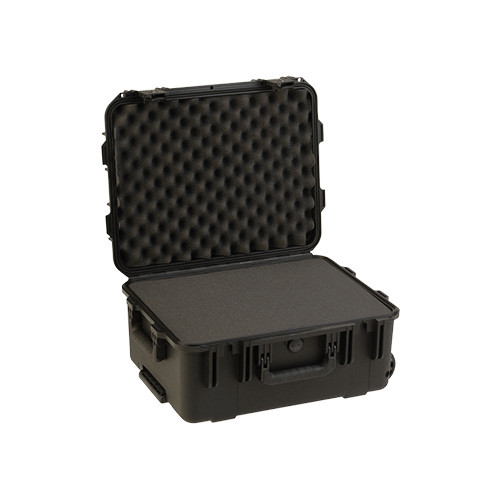3i-1914-8BTC military standard shipping case with Cubed Foam.w/ TSA locks, wheels & pull handle.Waterproof