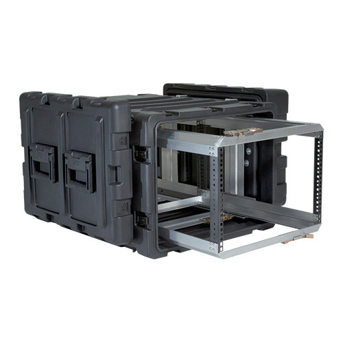 3RR-7U24-25B 7U Case with Slide Out Rack