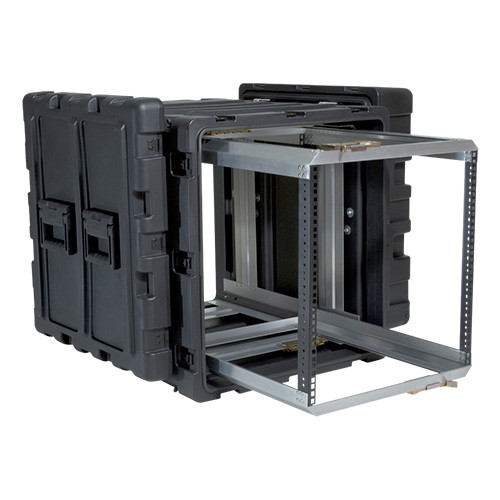 3RR-11U24-25B 11U Case with Slide Out Rack