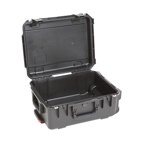 3i-1914-8B-E military standard shipping case. Empty. Includes wheels and pull handle. Waterproof