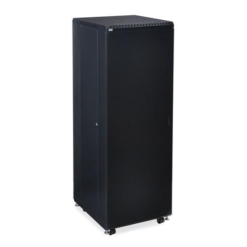 "Kendall Howard 3108-3-024-37 - 37U LINIER Server Cabinet - Solid/Solid Doors - 24"" Depth"