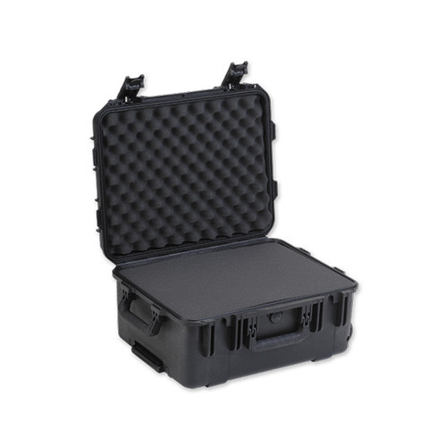 3i-1914-8B-C military standard shipping case with Cubed Foam. Includes wheels and pull handle. Waterproof