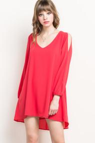 Coral Brittney Dress