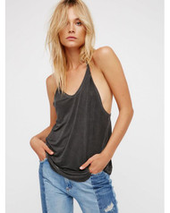 Free People Nectarine Tank- Black