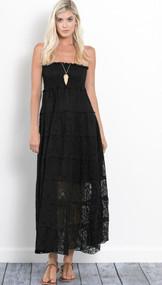 The Amelia Dress- Black