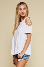 The Danielle Top- White
