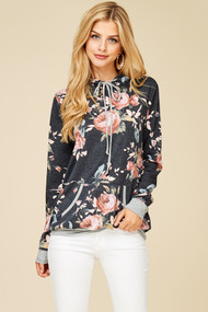 The Callie Floral Sweatshirt
