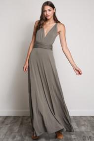 The Bridgette Dress-Olive