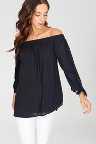 The Reese Top- Black