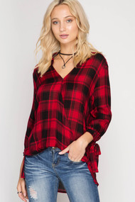 The Skyler Plaid Shirt
