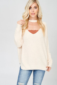 The Hayden Sweater- Cream