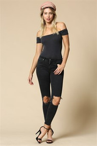 The Jana Top- Black