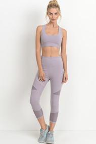 The Amaya Sports Bra- Lavender
