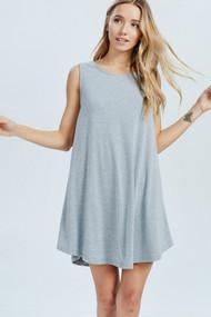 The Jocelyn Dress- Heather Grey