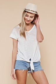 The Sawyer Top- White