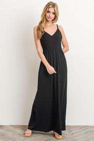 The Clara Maxi Dress- Black