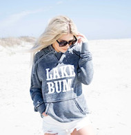 Lake Bum Sweatshirt- Dark Heather Grey