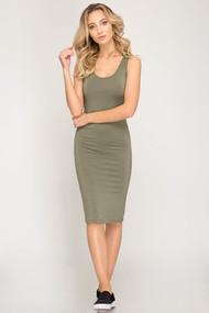 The Emmy Dress- Olive