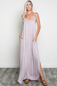 The Alyssa Dress- Mauve
