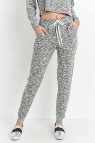 The Brianna Jogger Pants- Grey