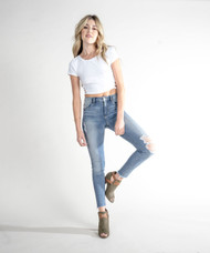The STS Blue Ellie High Rise Ankle Jeans