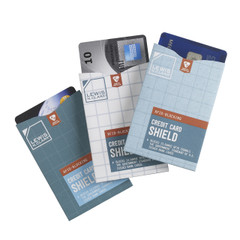 RFID-Blocking Shields, Credit Card 3-Pack