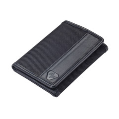 RFID-Blocking Ballistic Tri-fold Wallet