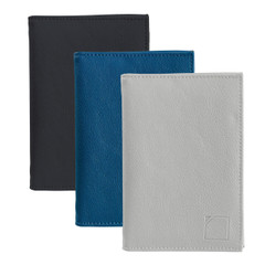 RFID-Blocking Fine Leather Passport Case