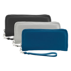 RFID-Blocking Fine Leather Clutch
