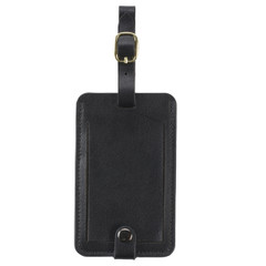 Leather Business Card Luggage Tag