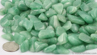 Green Aventurine Tumbled Gemstones 1LB