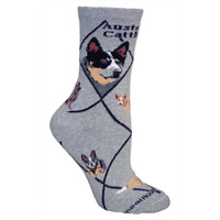 Wheel House Australian Cattle Dog Socks