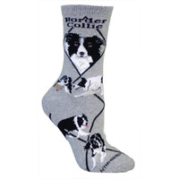 Wheel House Border Collie Socks