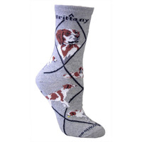 Wheel House Brittany Spaniel Socks