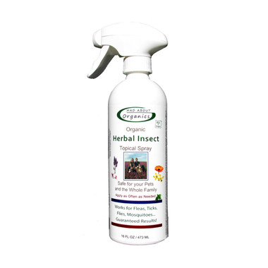 Mad About Organics Organic Herbal Insect Relief Spray