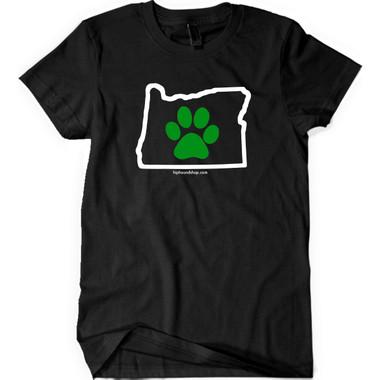 American Apparel OR Paw Human T-Shirt