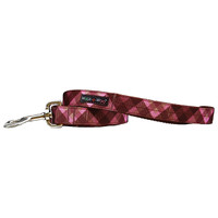Walk-E-Woo Modern Pink Plaid Lead