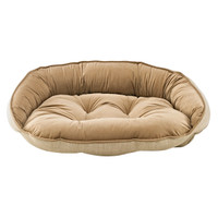 Bowsers Crescent Bed - Flax