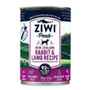 ZiwiPeak Rabbit & Lamb Canned Dog Cuisine