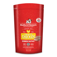 Stella & Chewy's Frozen Chicken Patties for Dogs